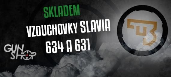 Vzduchovky SLAVIA SKLADEM